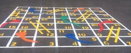 New Playground Markings!